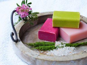 自然の石鹸
