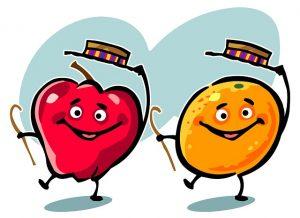 フルーツのダンス