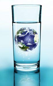 グラスの中の地球